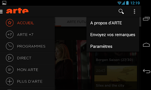 ARTE- screenshot thumbnail