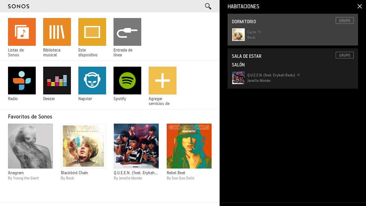 Sonos Controller Para Android - screenshot