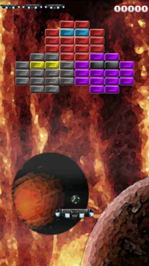 ArkAndroid game Arkanoid clone- screenshot