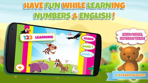 子供のための番号を学ぶ:子供のための教育的なゲームを