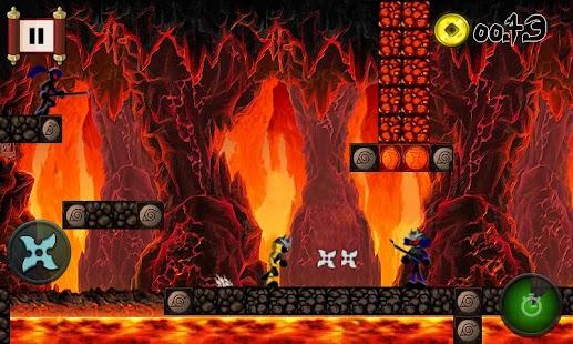 Run Ninja Jump DX Free Games - screenshot thumbnail