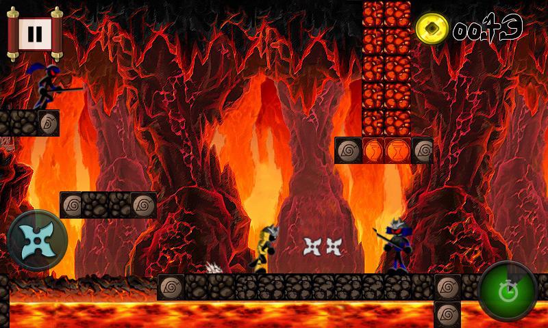 Run Ninja Jump DX Free Games - screenshot