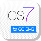 iOS 7 GO SMS Theme
