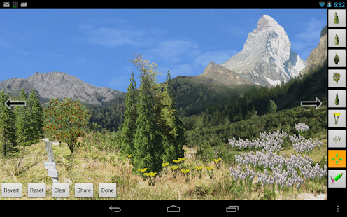 Mountains Live Wallpaper Pro- screenshot thumbnail