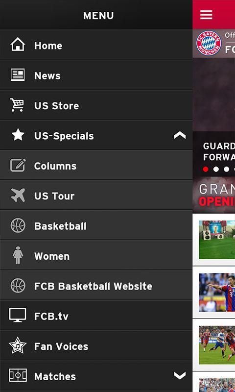 FC Bayern Munich - screenshot