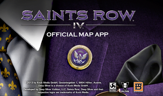 Saints Row 4 Official Map App- screenshot thumbnail