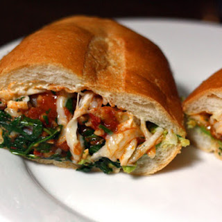 Chipotle Shrimp and Cheese Torta