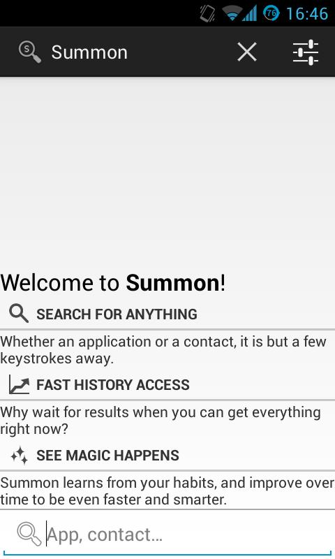 Summon ß- screenshot