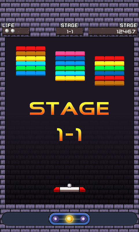 Brick breaker- free - screenshot