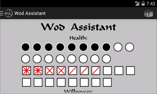 Wod Assistant - screenshot