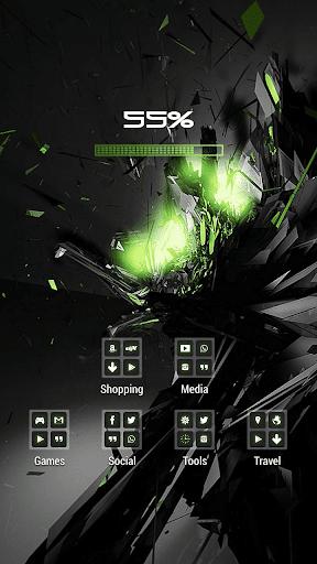 爆炸火花水晶主題|玩個人化App免費|玩APPs