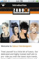 Screenshot of Zabuui Hairdesigners