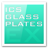 ADW APEX GO - ICS Glass Theme