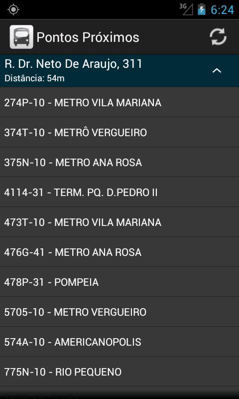 BusaoSP - Ônibus São Paulo - screenshot