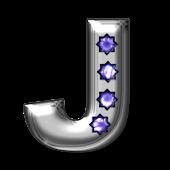 Bling-bling J-monogram