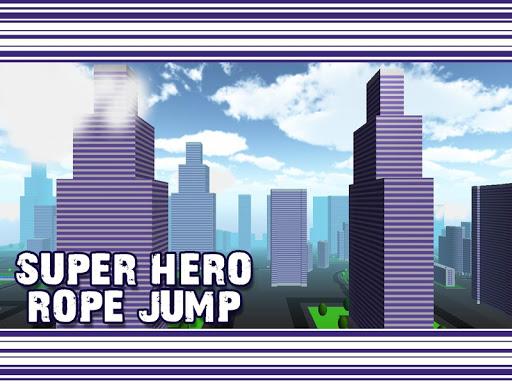 Super Hero Rope Jump