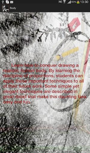 【免費教育App】Let's draw people's body-APP點子