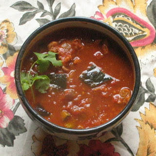 Mexican Chipotle and Smoked Pork Stew with Chorizo and Buttercup Squash