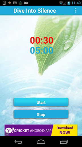 Dive Into Silence Timer Lite