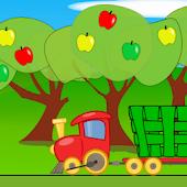 Паровозик собирает урожай