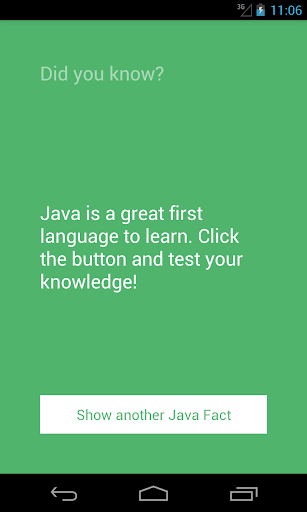 Java Facts