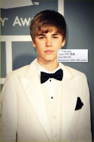 Justin Bieber Live Wallpapers - screenshot