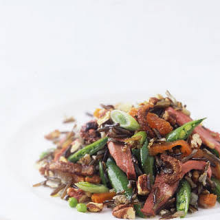 Duck and Wild Rice Salad.