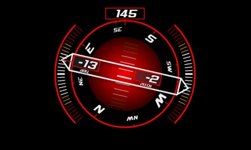 Inclinometer (+Compass) - screenshot thumbnail