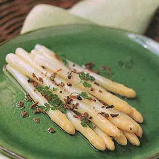 White Asparagus with Truffle Vinaigrette