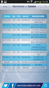 Banco del austro s a android for Cajeros link cercanos