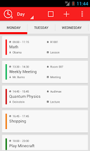 TimeTable++ Schedule - screenshot thumbnail