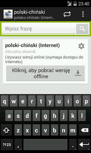 Polsko-Chiński słownik