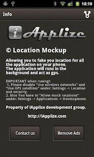 Location Mockup - Fake & Share- screenshot thumbnail