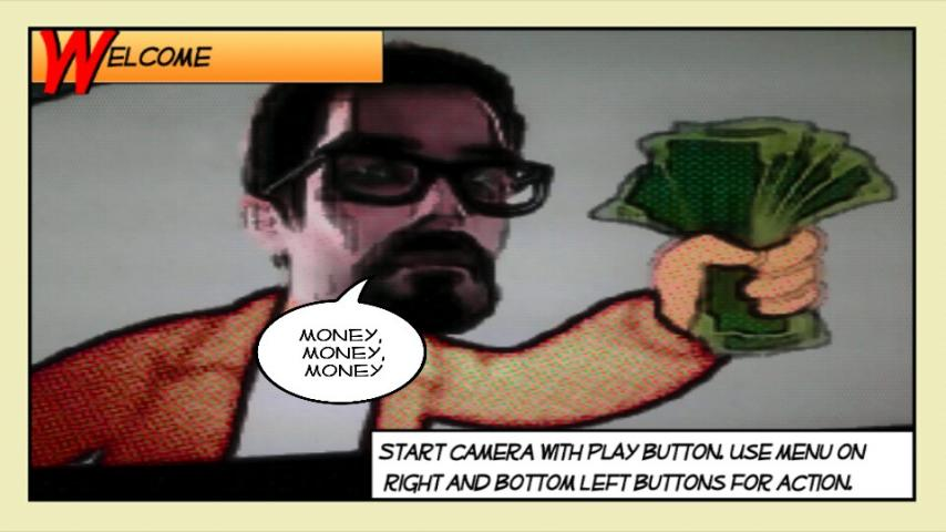 Comics Camera- screenshot