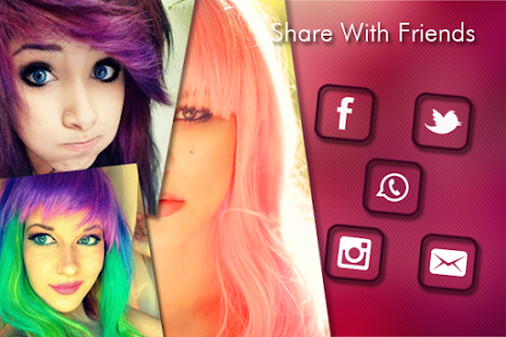 Change Hair And Eye Color Android Apps On Google Play - Hairstyle colour app