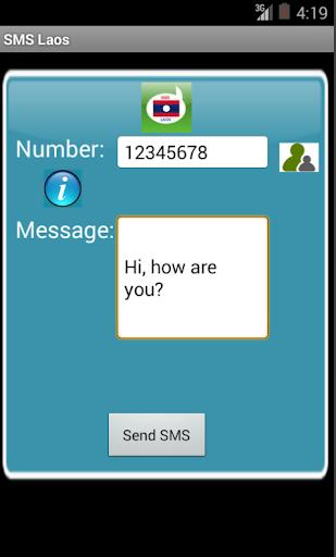 Free SMS Laos
