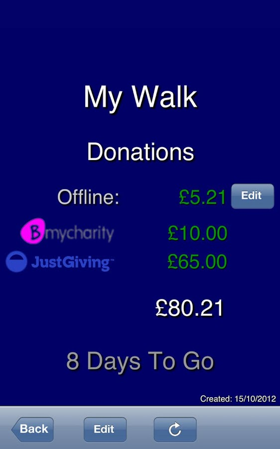 Charity Fundraising Agent - screenshot