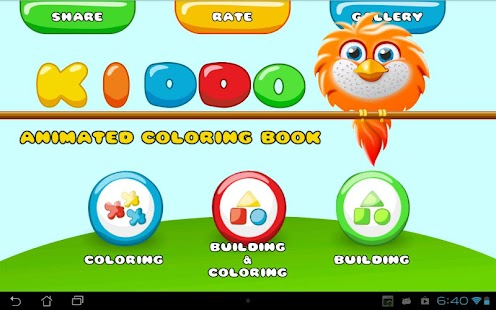 Kiddo - Animated Coloring Book