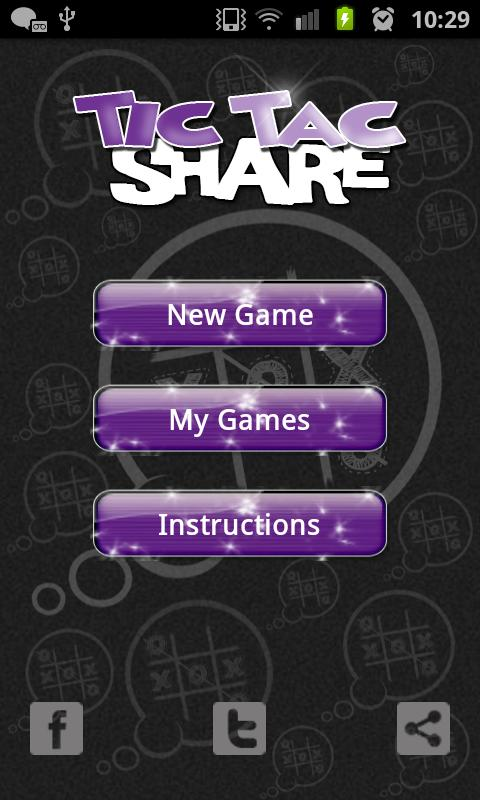 Tic Tac Share Free - screenshot