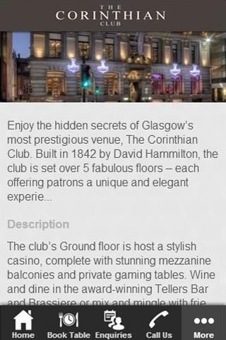 The Corinthian Club App