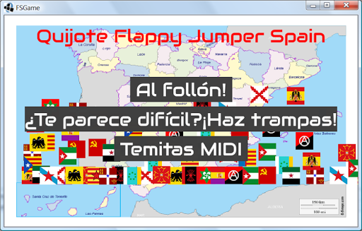 Quijote Flappy Jumper Spain