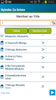 Screenshot of Nyimbo Za Kristo