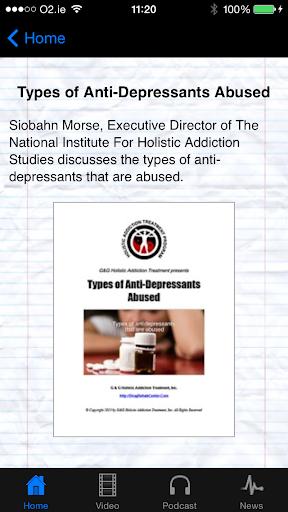 Anti-Depressant Drugs Abused