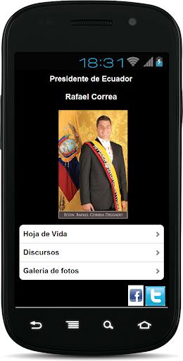 【免費通訊App】Rafael Correa-APP點子