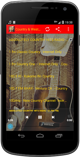 Country Western MUSIC Radio