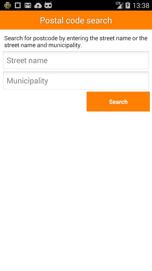 Posti mobile - screenshot