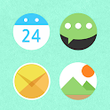 Color Round Atom Iconpack icon