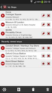 London Bus Master (Countdown) - screenshot thumbnail