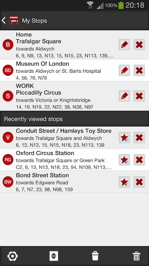 London Bus Master (Countdown) - screenshot