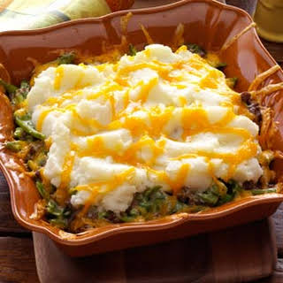 Mashed Potato Hot Dish.